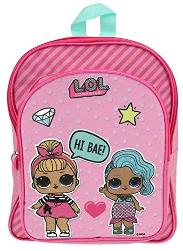 Kids LOL Surprise Mochila Infantil, 30 cm, Rosa