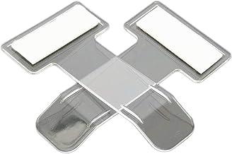 ZXR.Elwood 2 Pieces Transparent Car Parking Ticket Holder Clip Car Windshield Windscreen Tickets Holder