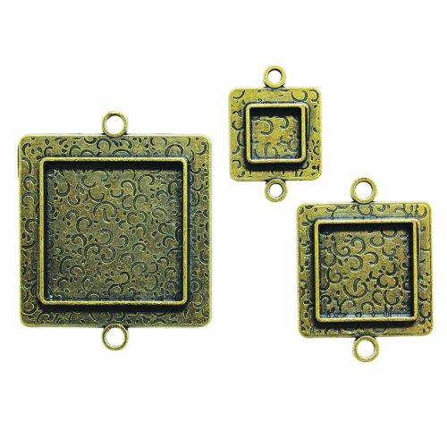 Spellbinders MB2-005 Media Mixage aangepaste vierkante twee, brons