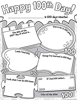 Teacher Created Resources Happy 100th Day Poster Pack  5640
