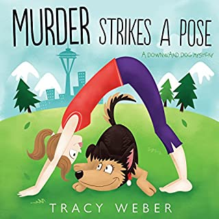 Murder Strikes a Pose audiobook cover art