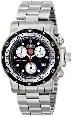 CX reloj suizo Militar 1726 Sea Wolf 1 - Negro