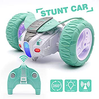Qun Feng Remote Control 360Spin Bounce Car