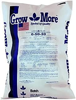 Grow More 5088 Water Soluble Fertilizer 0-50-30, 25 Pounds, 25 lb