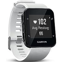 Garmin Forerunner 35 Reloj de running GPS con frecuencia cardíaca y entrenamientos basados en la muñeca, 010-01689-12 (reacondicionado), pantalla de 1, color blanco, Reloj GPS para correr.