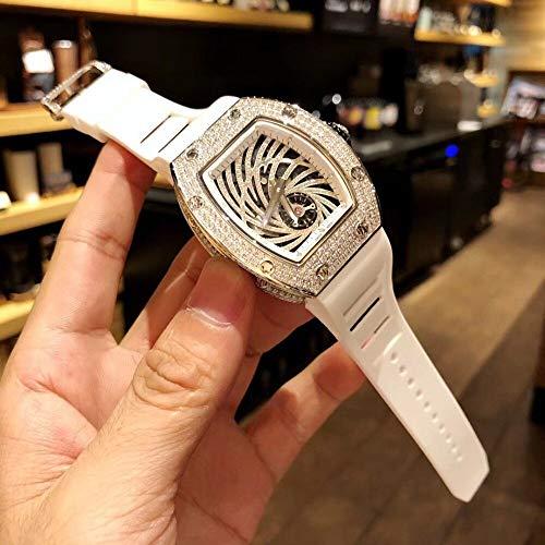 CWTCHY Gold Diamond Watch Brand Herren Sportuhren Chronograph Rose Gold Uhren3