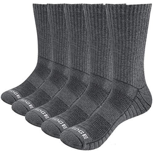 YUEDGE Hombre Gruesos Algodon Invierno Termicos Trabajo Deportes Calcetines L