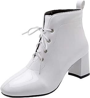 BalaMasa Womens ABS14026 Pu Boots