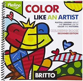 Ratpaneete P'Kolino Britto Color Like an Artist - Coloring Book