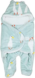 KINDOYO Newborn Infant Sleeping Bag - Winter Cute Warm Infant Anti-Kick Thickening Quilt 0~6 Months,Style02,US XS =Tag S