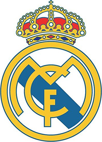postwalldecor Real Madrid FC Spain Soccer Football Coche De Parachoques Etiqueta Engomada 10 x 12 cm