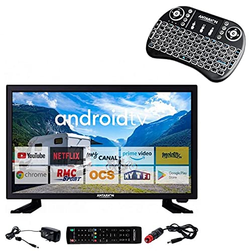 ANTARION Pack TV 19' 48 cm TELEVISOR CONNECT + Smart Pad...