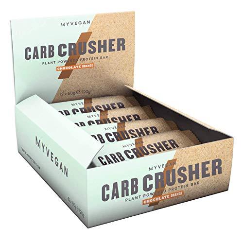 MyProtein Burro di arachidi MyProtein Vegan Carb Crusher senza noci 60g (scatola da 12) - 720 g