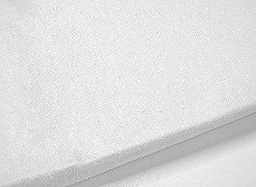 Zick-Zack-Stoffidee - Das Öko-Tex-Bügelvlies weiß 250x90cm, BESONDERS GUTE HAFTBARKEIT, Öko-Tex-Qualität in Deutschland produziert, Öko-Tex Produktklasse 2