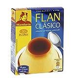 Mandarín - Preparado para flan clásico - Añada usted el azúcar - 6 sobres