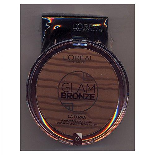 L Oreal Kit Glam Bronze N ° 3 + Lingettes de poche napkin