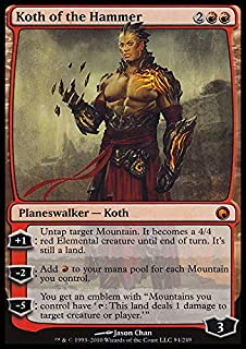 Magic: the Gathering - Koth of the Hammer - Scars of Mirrodin