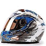 Full-face Motorcycle Helmet Flip-Type Helmet Modular Helmet ECE/DOT Certified Cross-Country Motorcycle Helmet Flip-Type
