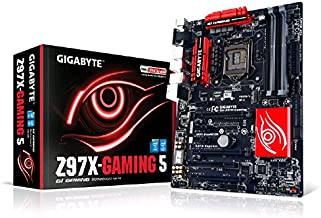 Gigabyte GA-Z97X-GAMING 5 LGA 1150 Z97 115dB SNR HD Audio with Built-In Rear Audio Amplifier ATX Motherboard