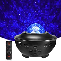 Delicacy LED Star Light Projector, Rotating Ocean Wave Night Lights, Nebula Projector Lamp, Colour Changing Music Player...