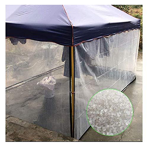 SHIJINHAO Lonas Impermeables Exterior,Impermeable Transparente Lona Con Ojales Cubierta For Marquesinas Duradero Resistente A La Intemperie Lona Plegable Planta Techo Protección Contra La Lluvia, 32 T