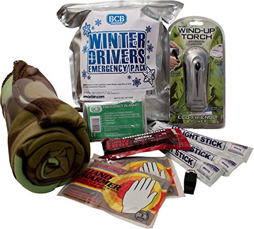 BCB Adventure Survival Winter Drivers Emergency Kit
