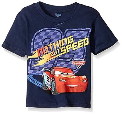 Disney Boys' Toddler Boys' Cars Nothing But Speed Short Sleeve T-Shirt