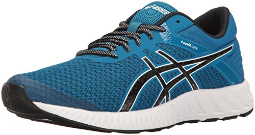 ASICS Men's fuzeX Lyte 2 Running Shoe, Thunder Blue/Black/White, 11 M US
