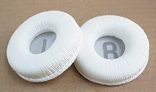 Repair Parts Ear Pads Cushion Earmuff for JBL Tune 600BTNC,T500BT,JR300,JR300BT T450BT T450 Headset (White)