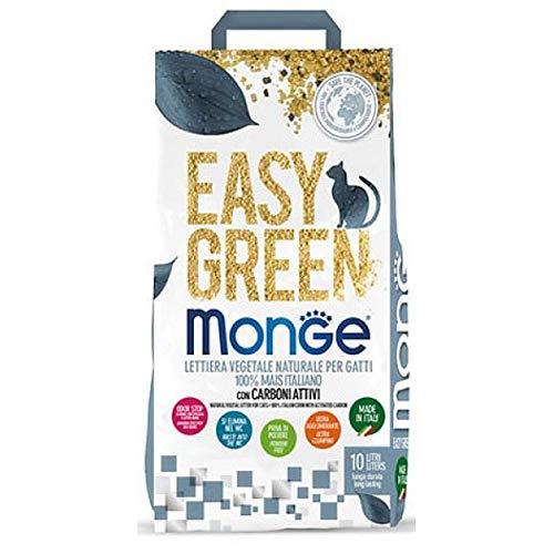 Monge Easy Green Lettiera vegetale Naturale per Gatti