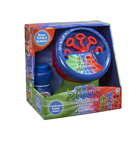 Little Kids PJ Masks Bubble Blastin Machine, Multi