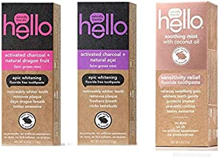Best hello coconut oil toothpaste Reviews