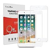 Lanhiem [2 pièces] Verre Trempé iPhone 7 / iPhone 8, [Couverture Complète] [Garantie à Vie] Film Protection écran...
