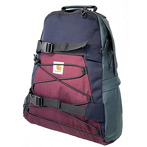 CARHARTT WIP Kickflip Backpack Multicolour Wine/Green/Navy 1006288-73