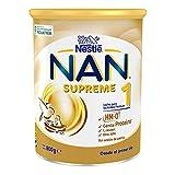 Nan Supreme 1Leche para Lactantes en Polvo Premium Fórmula para Bebé Desde El Primer Día, 800g