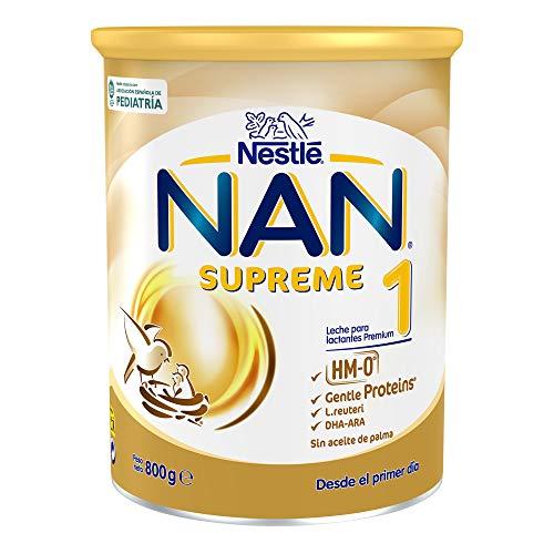 NAN SUPREME 1 - Leche para lactantes en polvo, fórmula para bebé, desde el primer día, 800g
