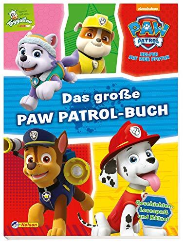 PAW Patrol: Das große PAW-Patrol-Buch: Kinderbeschäftigung ab 3