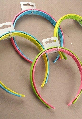 Mias accessoires aliceband-lot de 2–pastellfarbenen 1,5 cm de large bandeau alice bands