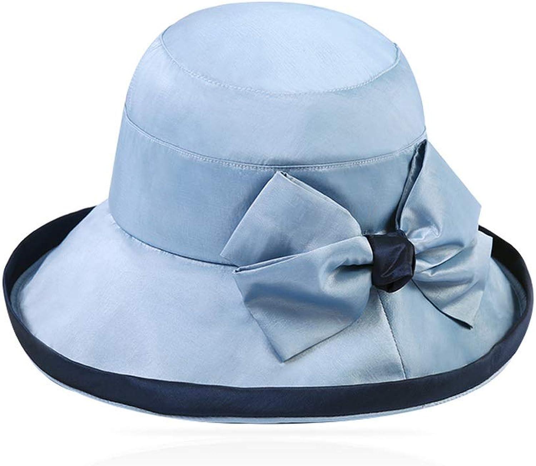 YD Hat  Sun Hat Ladies Summer Sun Visor UV Predection Foldable WideBrimmed Beach Hat (5 colors)    (color    2)