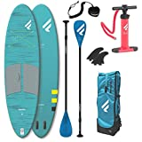 Fanatic Fly Air Bolsillo 10.4 Stand Up Paddle Tabla, Menor Packmass Sup Pure Remos