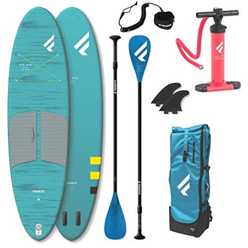 Fanatic Fly AIR Pocket 10.4 Stand Up Paddle-board, kleinere verpakkingsmaat SUP peddel