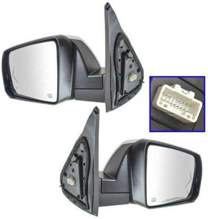 Vooviro お金を節約 Excellent Mirror Power Fold Memory Signal Blind 贈答品 Heated S