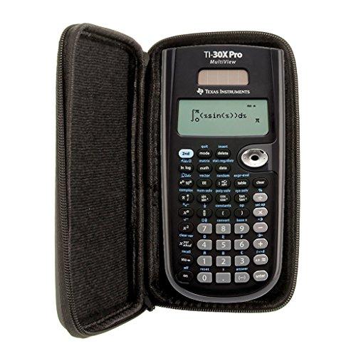 SafeCase beschermhoes voor rekenmachines en grafische rekenmachines van Texas Instruments TI 30 X Pro MV