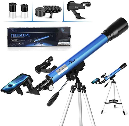 TELMU Telescope, 30X & 48X Reflector Professional and Astronomical Monocular...