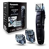 Panasonic ER-GB86-K503 Regolabarba, Regolabile con Pettine da 1 a 30 mm, Perfetto per Barbe Lunghe, Lavabile, Lama Giapponese