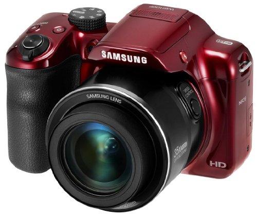 Samsung WB1100F 16,2 megapíxeles CMOS inteligente WiFi y NFC cámara Digital con 35 x Zoom óptico, 3,0 pulgadas LCD y 1080p HD de víd
