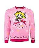 Official Super Mario Princess Peach Christmas Jumper