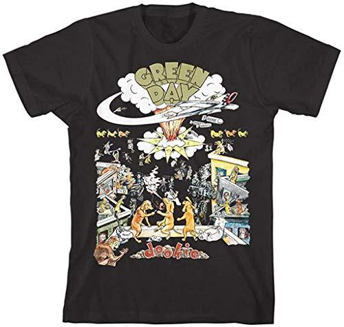 Green Day Dookie Scene T-Shirt (Medium) Black