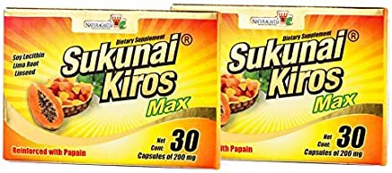Sukunai Kiros Max 2 Packs the Original From Mexico Lose Weigth Now by Sukunai Kiros Max