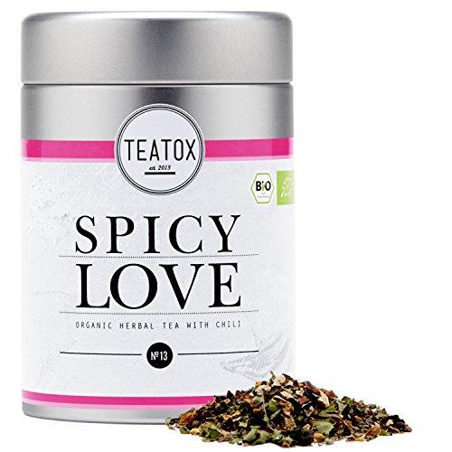 TEATOX Spicy Love, Bio Kräutertee mit Anis und Chili (Dose)